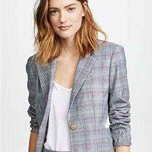 Tibi Cooper Menswear Cutout Blazer  Size 2